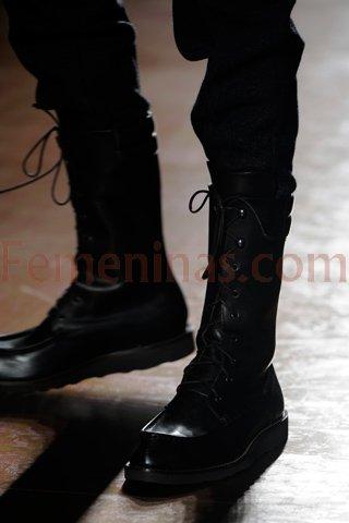 botas altas de cuero para hombre 0ce58ed596320
