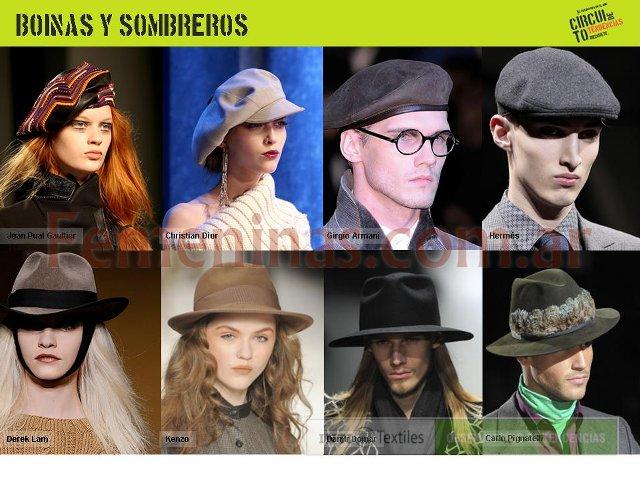 Gorras boinas sombreros Invierno 2011