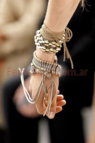 Pulseras y anillos moda joyas 2012 Roberto Cavalli d