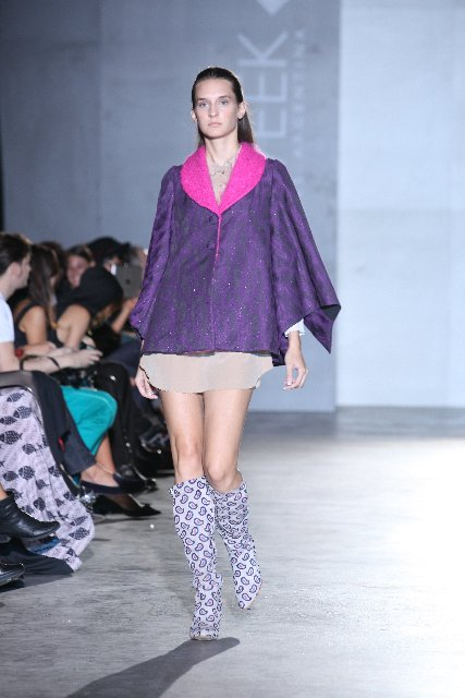 garza violeta: