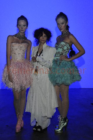 Backstage y Sociales Maria Pryor Moda Invierno 2011