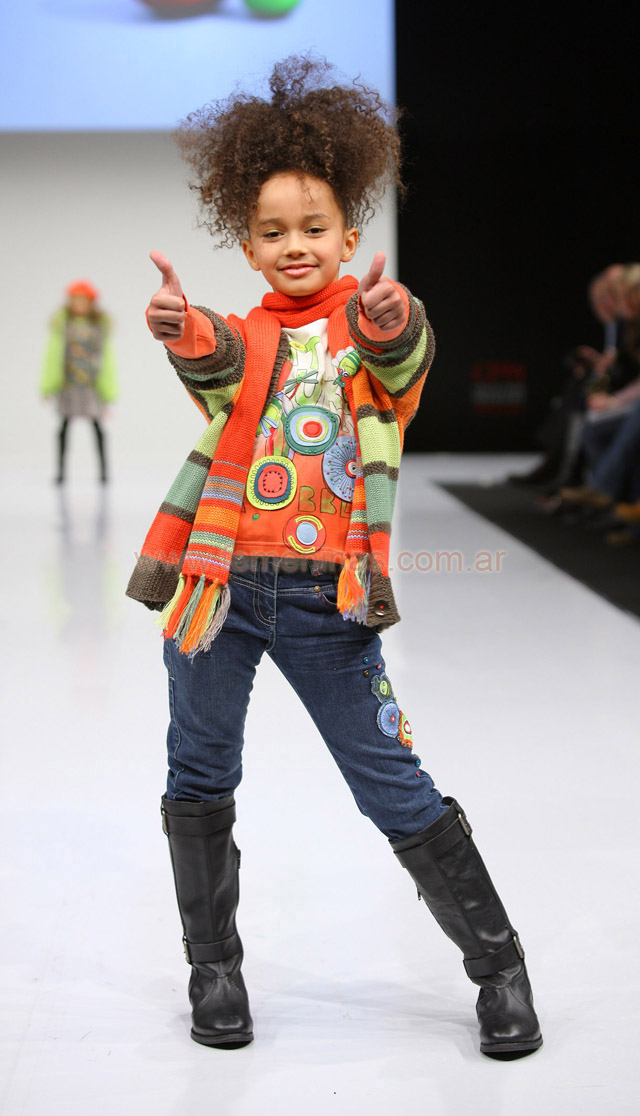 Children's Fashion Europe en Moscú invierno 2011