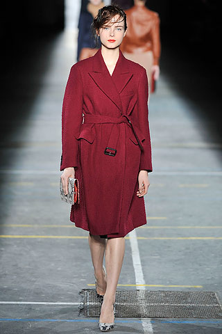 Piloto bordo cruzado Dries Van Noten