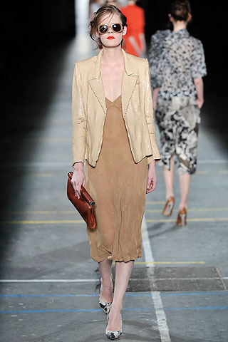 Vestido blazer recto Dries Van Noten