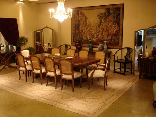 Diana reisfeld muesta una decoraci n de comedor estilo cl sico for Decoracion comedor clasico