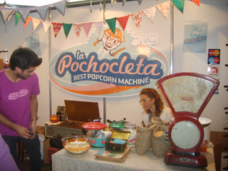 La pochocleta best popcorn machine