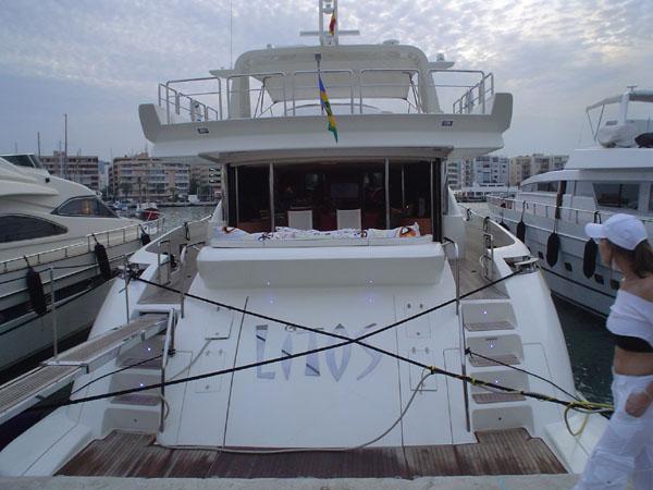 a baleares en barco: