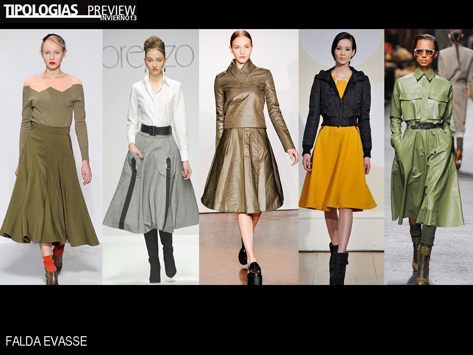 0d89f0782 La tipica falda evasse mas bien largas seran lo ultimo en moda este invierno
