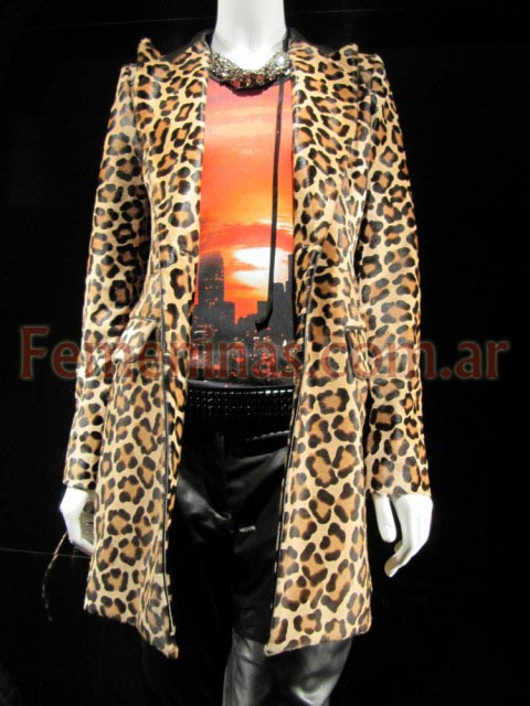 BarbaraBui tapado animal print