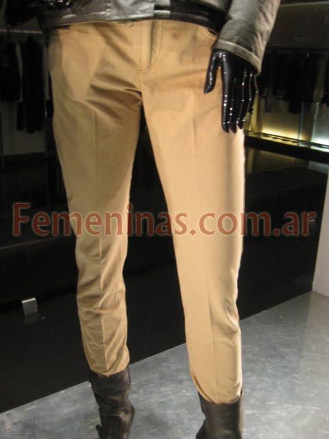 Belfast pantalon slim natural
