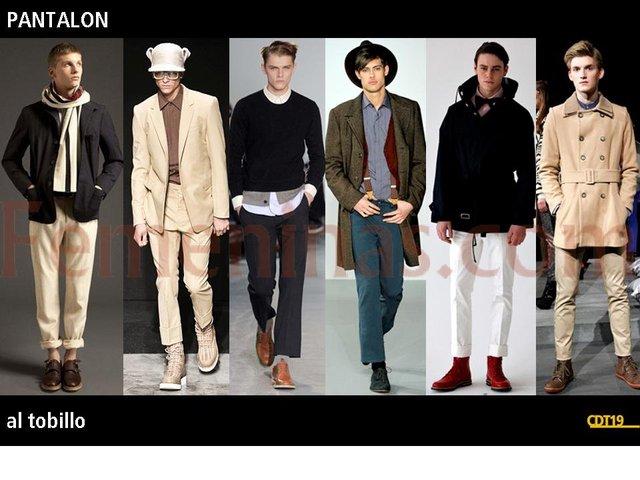 fed58d817 Tipologias de moda masculina 2012