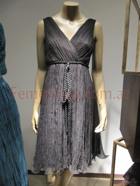 Tendencia en vestidos de moda oto o invierno 2011 for Color plomo