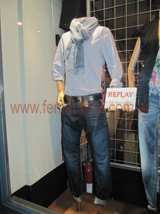 Look  masculino primavera verano 2012 Replay L
