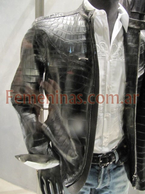 GianfrancoFerre campera croco negra