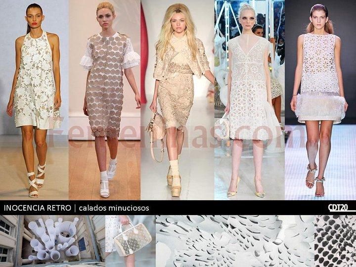 Para este verano 2013 la moda en vestidos y blusas con calado minusioso