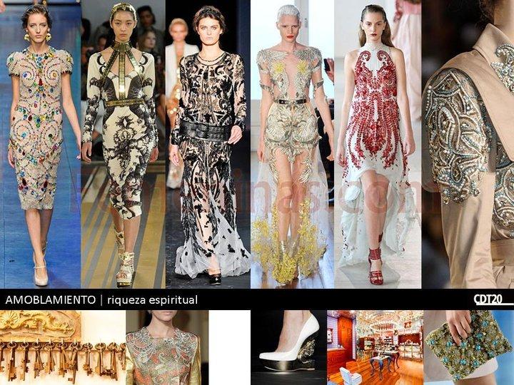 Riquesa espiritual en los estampados de las prendas de moda