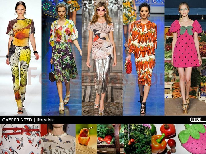 Lo ultimo para este verano 2013prendas de moda overprinted