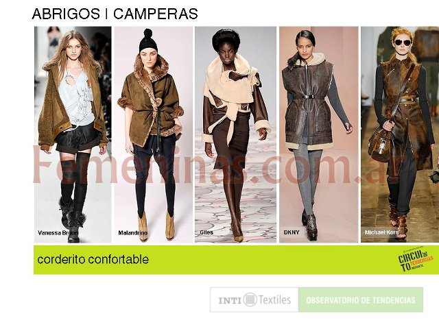 Camperas con corderito confortable