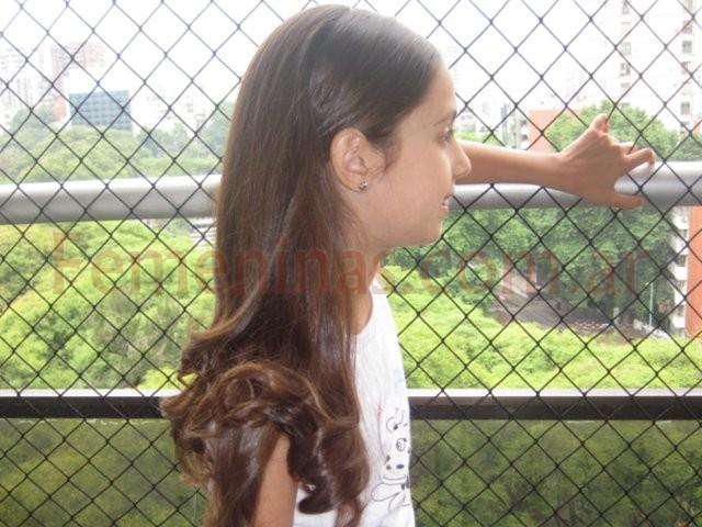 Este Peinado De Fiesta Fue Realizado Para Una Nena Que Fue Cortejo