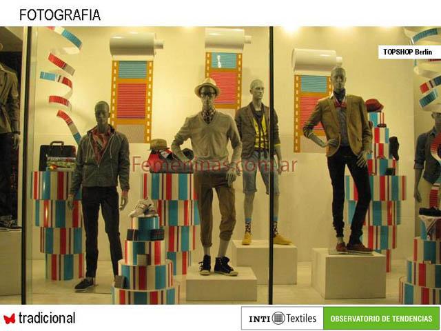 Moda en las vidrieras de europa donde los dise adores Modelos de locales de ropa