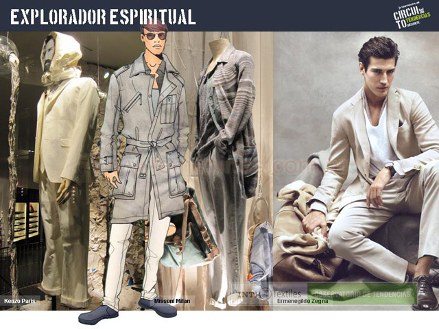Look masculino explorador