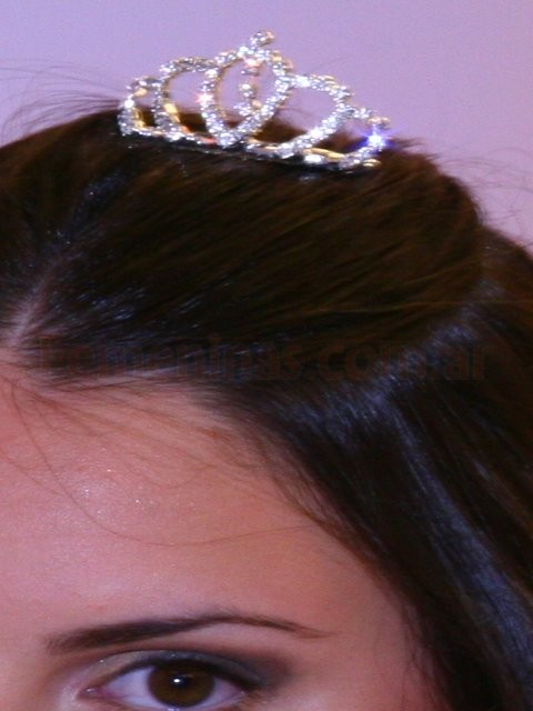 Tiara quince strass
