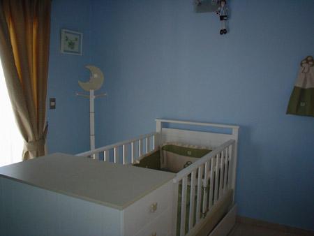 Decoracion de ambiente para la pieza de un bebe var n for Cuarto de bebe varon