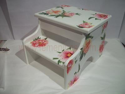 Como realizar la t cnica de decoupage - Decoupage con servilletas en muebles ...