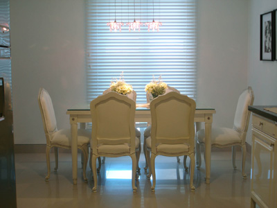 En la decoraci n estilo urbano tradicional for Comedor diario decoracion