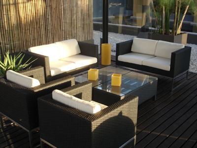 Consejos para elegir los muebles del jard n y la terraza for Muebles de jardin exterior