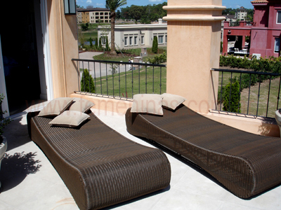 Para un ambiente acogedor muebles de fibras naturales for Fontenla muebles