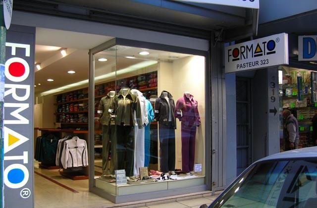 Showroom de Formato ropa reportiva mayorista en Once