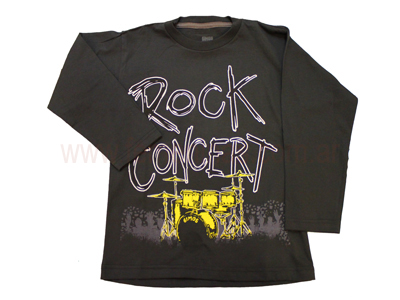 Remera manga larga Rock concert