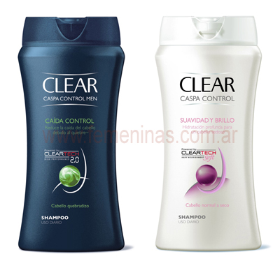 Clear Men y Clear Woman cuida tu cabello