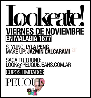 Lookeate con Peuque