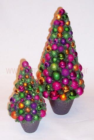 Los mejores rboles navide os para estas fiestas - Arboles de navidad colores ...