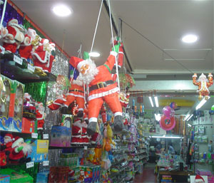 Papa noel decoraci n navide a ventas por mayor y menor - Articulos decoracion navidad ...