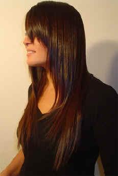 peinados cabellos largos lacios