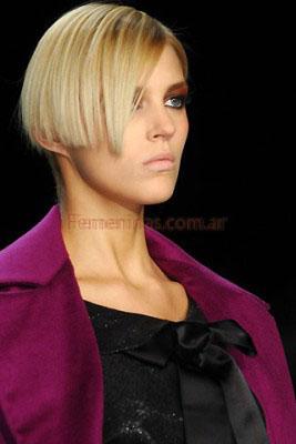 peinados en pelo corto utlima moda