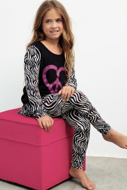 4fd86a0cf6 Moda pijamas Mini Promesse invierno 2013