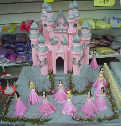castillo de princesas soado para decorar tu cumpleaos