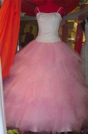 Vestido De Fiesta Rosado Con Mucho Tul Para Estar Divina En
