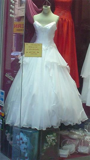 Locales de vestidos de novia en flores