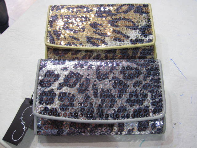 Billeteras dama animal print brillante