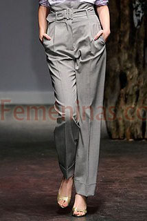 pantalon recto cintura alta Vivienne Westwood red label