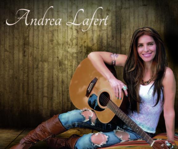Andrea Lafert expande su música por Latinoamérica