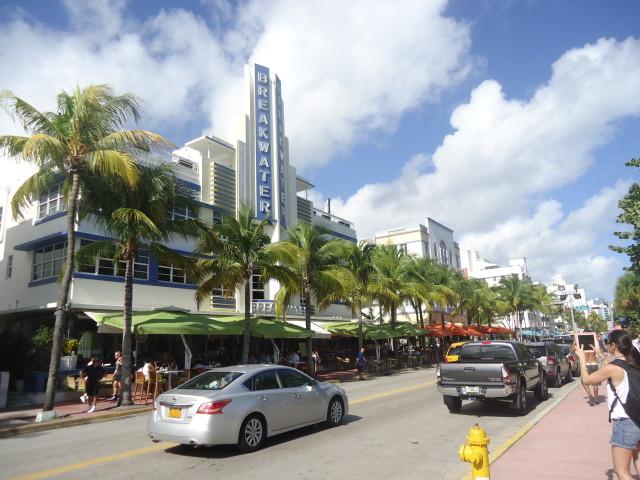 Paseo de día por Ocean Drive Miami Beach