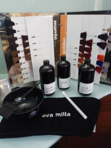 Eva Milla, peluquería de belleza orgánica en Pamplona