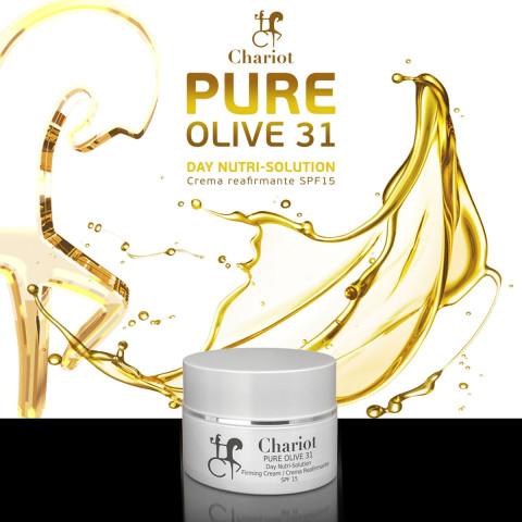 Pure Olive de Chariot Cosmetics: 31 días son suficientes para notar sus potentes resultados