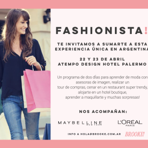 Flyers Finde Fashionista Maybelline Loreal